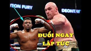 Tyson Fury Từng Khiến Jarrell Miller SẤP MẶT 7 Lần Trước Khi So Tài Với Anthony Joshua