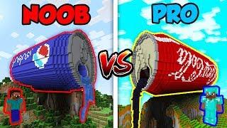 Minecraft NOOB vs. PRO: PEPSI vs. COCA COLA in Minecraft!