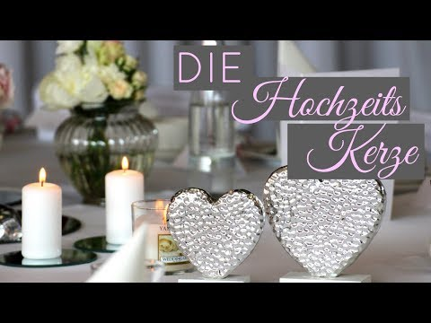 Unsere Hochzeitskerze | Kirchliche Trauung | braut.TV