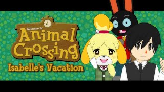 Isabelle  - (Animal Crossing) - Animal Crossing - Isabelle's Vacation