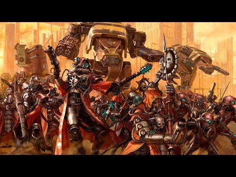 Exploring Warhammer 40k: The Adeptus Mechanicus