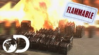 Horrifying Bleve Explosions Around The World   Explosions Gone Wrong