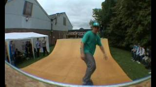 Messin' about on the Route One Mini ramp