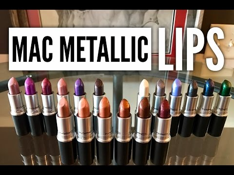 Metallic Lips Lipstick by MAC #6