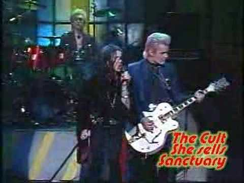 The Cult - She sells sanctuary (live tv 1985) online metal music video by THE CULT