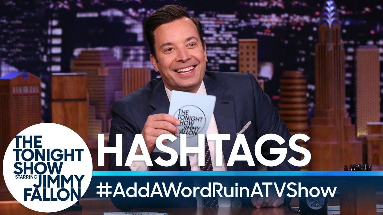 Hashtags:#AddAWordRuinATVShow thumbnail