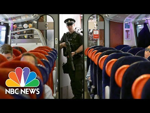 Terror Threat: Armed Police Patrol U.K. Trains After Manchester Bombing | NBC News