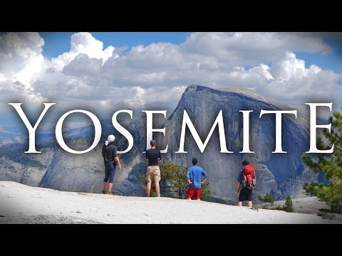 Yosemite National Park in 4K | Backpacking, Hiking, and Camping at North Dome/Upper Falls