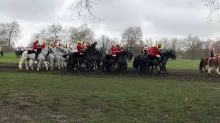 Major General inspection of Queens Guard - Hyde Park 2018