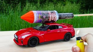 EXPERIMENT: XXL ROCKETS WITH TOY CAR GTR