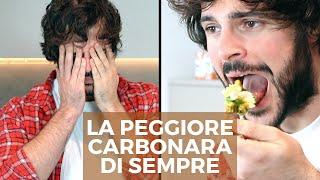 La carbonara francese (FAIL)   Cucina Buttata - Guglielmo Scilla