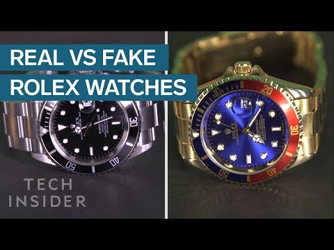 How to Spot a Fake Rolex is 3 Easy Steps