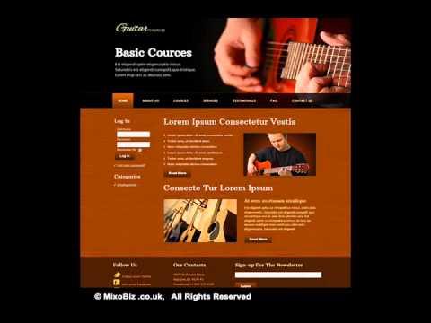 Media related web design samples ( MixoBiz )