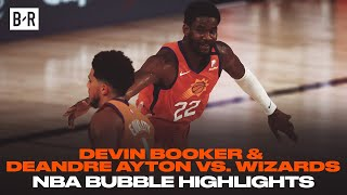 Devin Booker (27 PTS) & Deandre Ayton (24 PTS) Go Off Against Wizards