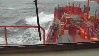 Storm At Portuguese Coast