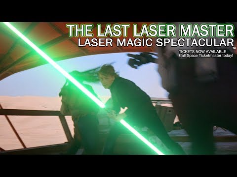 Dirk Lasermaster:The Last Laser Master - Laser Magic Spectacular