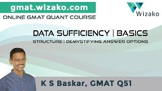 GMAT Data Sufficiency Basics   Data Sufficiency Tutorials   What is GMAT DS?   DS Questions