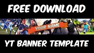 how to make a gaming banner in photoshop ฟร ว ด โอออนไลน ด ท ว