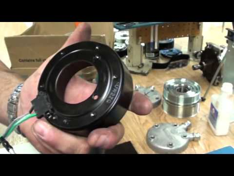 Sanden Compressor Clutch Removal  SD7  SD5