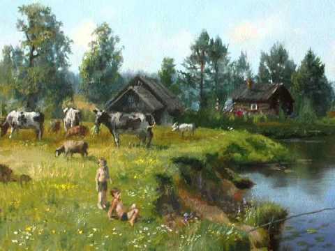 Ольга ВОРОНЕЦ -  Деревенька моя