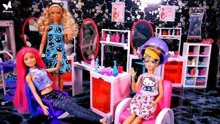 Metamorfoza Barbie i szalona siostra 🦋 Gosposia Ken?! 🦋 Bajka po polsku z lalkami Rodzinka