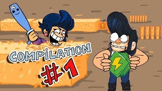 Brawl stars Animation Compilation #1 By Guru Mobile Game