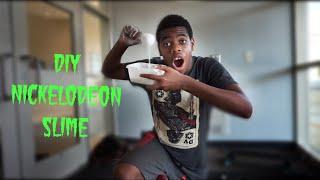 HOW TO MAKE DIY NICKELODEON SLIME (make this go viral)