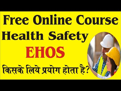 free online safety officer course in India with certificate - YouTube