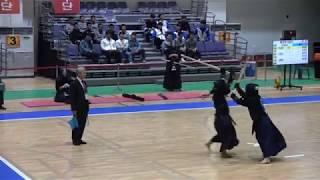 2019 전국체육대회 검도 여자일반부 16강 - 울산 vs 전남 [검도V] kendoV