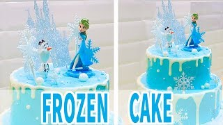 🎂 HOW TO MAKE A DISNEY FROZEN CAKE ELSA | Como Rellenar Y Decorar Un Pastel De Frozen | 冰雪奇緣生日蛋糕