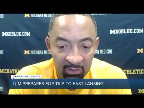 Michigan, Michigan State prep for rematch in regular season finale