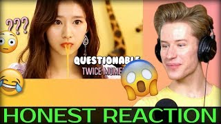 HONEST REACTION to TWICE moments that are very questionable