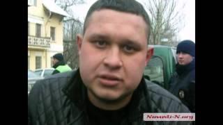 Видео Новости N  В Николаеве пьяный водитель оказал сопротивление полиции