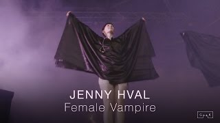"Jenny Hval Performs ""Female Vampire"" At Primavera Sound Festival 2016 