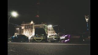 Purple and Blue MAZDA RX8