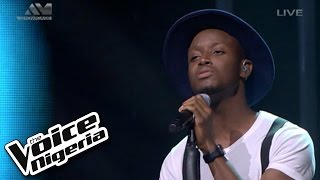 """Chike Sings """"500 Miles""""  Live Show  The Voice Nigeria 2016"""