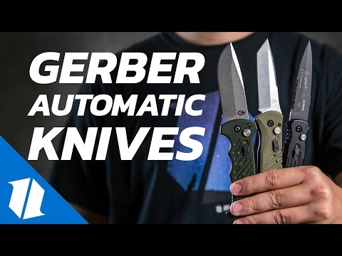 Gerber Automatic Knives – All Models! | Knife Banter Ep.16