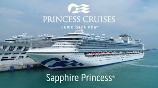 Sapphire Princess: Walk-Through Tour