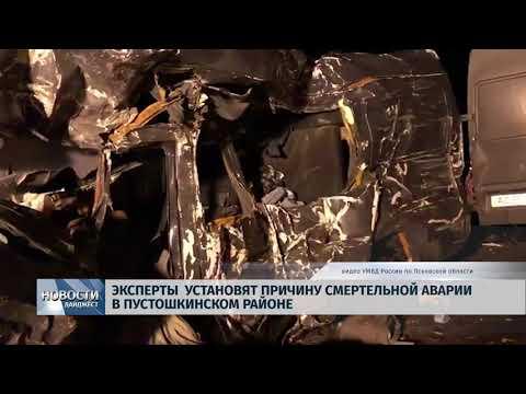 Новости Псков 13.02.2020 / Эксперты установят причину смертельной аварии в Пустошкинском районе