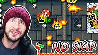 THIS RUN MADE ME GO INSANE // Super Expert No Skip [Super Mario Maker]