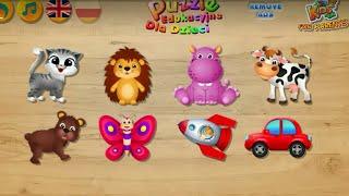 Let's Play • Puzzle Edukacyjne dla Dzieci • po Polsku, Nauka, układanki, bajki, Gry dla dzieci