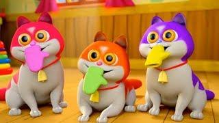 Three Little Kittens   Nursery Rhymes Songs for Children   Kids Cartoon by Little Treehouse