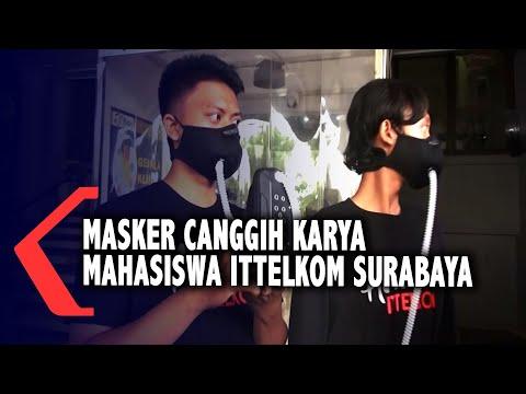 masker canggih dengan pemurni udara