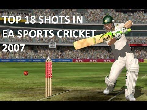 Top 18 Shots of EA Sports Cricket 2007