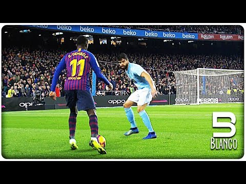 12 Times Ousmane Dembele Surprised the World in 2018 !!!