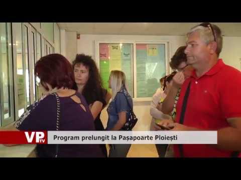 Program prelungit la Pașapoarte Ploiești