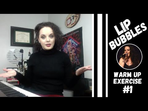 Here is my favorite vocal warm up to do first in your practice time - the lip bubble, also called the lip trill.