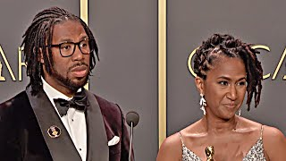 Oscars 2020 Matthew A. Cherry & Karen Rupert Toliver - Hair Love - Winner Speech