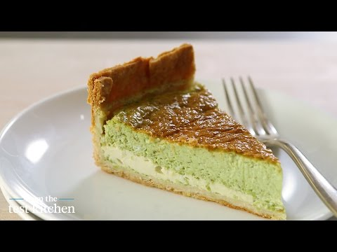 Pureed Peas and Mint Quiche – From the Test Kitchen