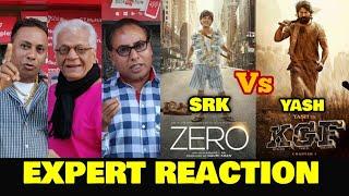 ZERO vs KGF   EXPERT REACTION   SRK vs Yash   No Solo Release For Zero on 21st Dec